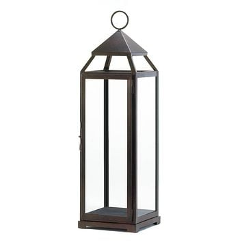 10 Extra Tall Bronze Contemporary Lanterns