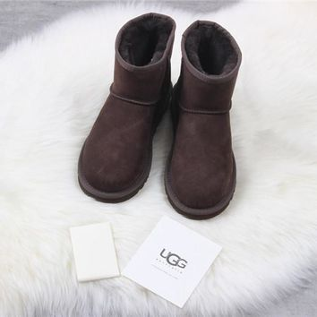 """Ugg ""winter Snow Boots Men fashion Brown shoes/1017496"