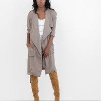 SMOOTHER CRIMINAL TRENCH COAT