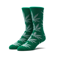 HUF - GLOW IN THE DARK PLANTLIFE SOCKS // GREEN