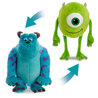 Sulley and Mike Wazowski Reversible Plush - Large - 23'' | Disney Store