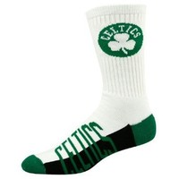 NBA Boston Celtics Men's Crew Socks, Large