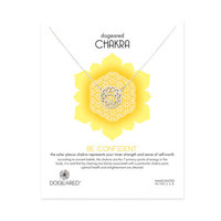 chakra solar plexus necklace, sterling silver - Dogeared