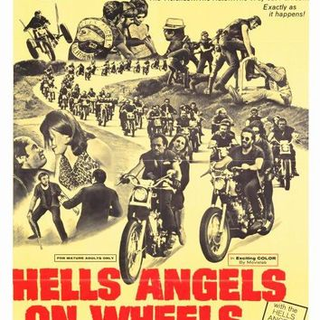 Hell's Angels on Wheels 27x40 Movie Poster (1967)
