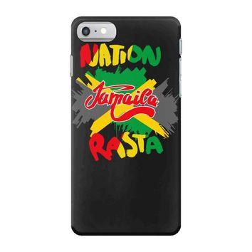 rasta nation, the reggae and dancehall iPhone 7 Case