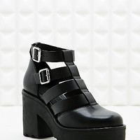 Out From Under Joyce Double Buckle Strappy Heels - Urban Outfitters