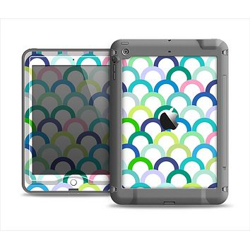 The Vibrant Fun Colored Pattern Hoops Apple iPad Mini LifeProof Nuud Case Skin Set