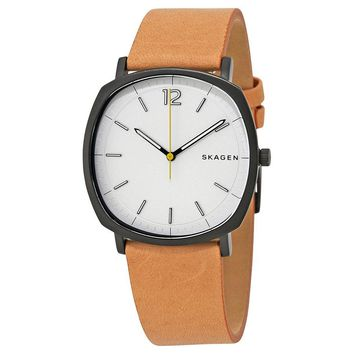 Skagen Rungsted White Dial Mens Watch SKW6379