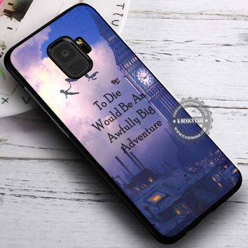 Big Adventure Peter Pan Quotes iPhone X 8 7 Plus 6s Cases Samsung Galaxy S9 S8 Plus S7 edge NOTE 8 Covers #SamsungS9 #iphoneX