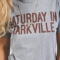saturday in starkville tee