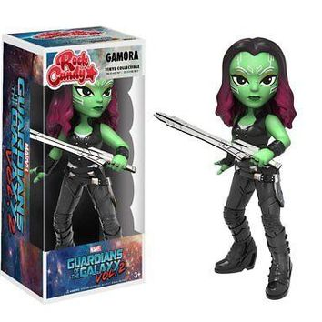 Funko Rock Candy: Guardians of the Galaxy 2 Gamora Toy Figure