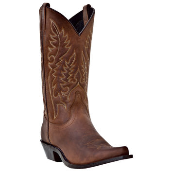Pungo Ridge, Home of Western Boot Sales - Online Western Store - Laredo® Women's Providence Western Boots - Tan Crazyhorse, Women's Boots, 51094