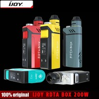 IJOY RDTA BOX 200W with 12.8ml tank Vape Mod