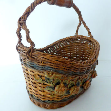Rare Vintage French Basket