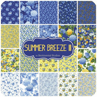 Summer Breeze III Charm Pack by Sentimental Studios for Moda Fabrics, 5-inch squares