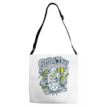 pillow monster Adjustable Strap Totes