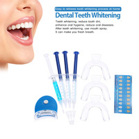 9pcs Teeth Whitening Oral Hygiene Dental Trays Dental Bleaching Whitening Gel 44% Peroxide Dental Equipment Oral Care Tools SM6