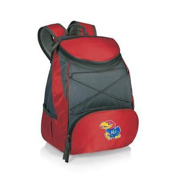 Kansas Jayhawks KU Backpack Cooler Activity Tote
