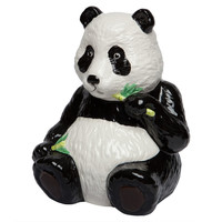 Panda Body Ceramic Cookie Jar