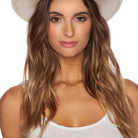 Michael Stars Breezy Panama Hat in Black