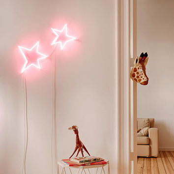 Cosmic - handmade neon sign inspired by Le Petit Prince by Lilly Ingenhoven