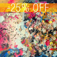 DISCOUNT -25% - An Original Acrylic Impressionistic Abstract Decorations II Painting by Kelli Gedvil!