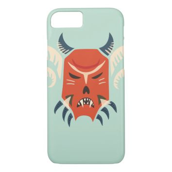 Traditional Kuker Mask - Evil Monster iPhone 7 Case