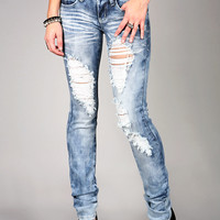 Storm Shred Straight Jeans | Trendy Jeans at Pink Ice