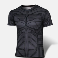 Batman Cosplay Functional T-Shirt Breathable fabric 2014 = 1928007300