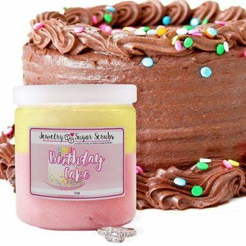 Birthday Cake | Single Jewelry Sugar Scrub®