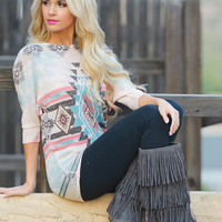 Dust In The Wind Tunic - Tribal