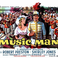 The Music Man (Belgian) 11x17 Movie Poster (1962)