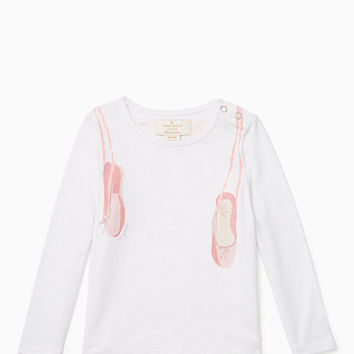 toddlers' on pointe tee
