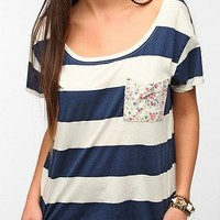 Truly Madly Deeply Printed Boxy Pocket Tee