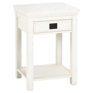 Oxford Bedside, Antique White