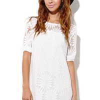 Motel Rocks Yulia Dress - Womens Dress - White -