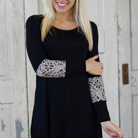 Dark As Night Tunic - Piace Boutique