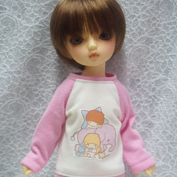 Super Dollfie Yo SD Littlefee Pink Sweater - Little Twin Stars