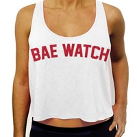 Dentz Design Bae Watch Crop Tank Top