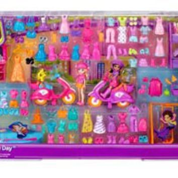 Polly Pocket Ultimate Play Day - 150 Pieces