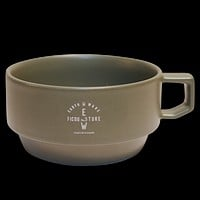 Military Hasami Block Soup Mug, Army