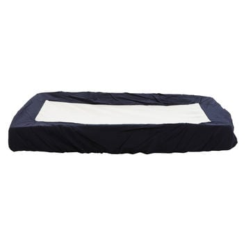 Navy blue change pad cover