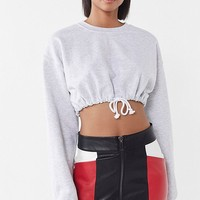 UO Brandi Faux Leather Colorblock Mini Skirt | Urban Outfitters