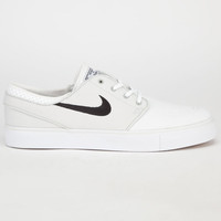 Nike Sb Zoom Stefan Janoski Mens Shoes Light Base Grey/Black/White  In Sizes