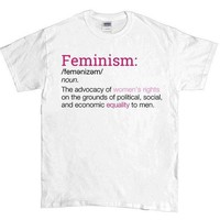 Definition of Feminism -- Unisex T-Shirt