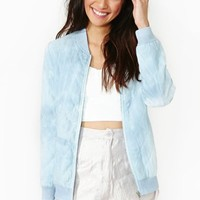 Cloud Control Bomber Jacket