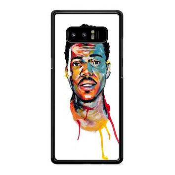 Acrylic Painting Of Chance The Rapper Samsung Galaxy Note 8 Case