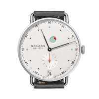 Metro Datum Gangreserve sapphire crystal back | Beautiful watches purchased online. Directly from NOMOS Glashutte/SA.