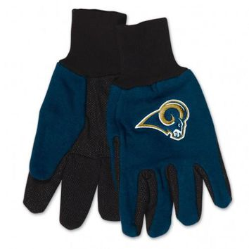 Los Angeles Rams - Adult Two-Tone Sport Utility Gloves