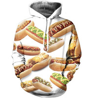 Hot Dogs Hoodie